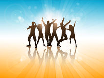 Summer party background Royalty Free Stock Photography