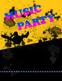 Summer Party concept Royalty Free Stock Image