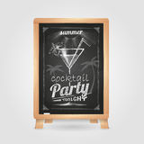 Summer party poster Royalty Free Stock Images