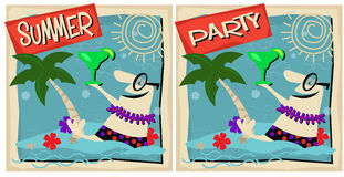 Summer Party royalty free illustration