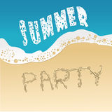 Summer party Royalty Free Stock Images
