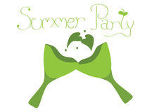 Summer party Stock Images