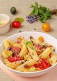 Summer pasta Royalty Free Stock Photo