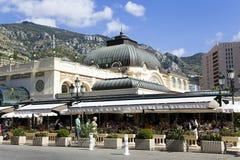 Summer patio of Cafe de Pari Stock Photography