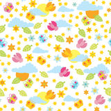 Summer pattern. In bright colors Royalty Free Stock Photos