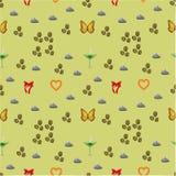 Summer pattern Stock Photo