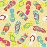 Summer Pattern royalty free illustration