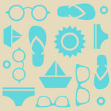 Summer pattern Stock Photography