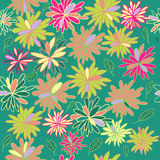 Summer  pattern. Colorful floral summer seamless pattern Royalty Free Stock Image
