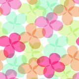 Summer pattern. With multicolor flowers Royalty Free Stock Photos