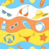 Summer Pattern Royalty Free Stock Image