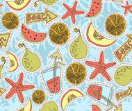 Summer pattern Stock Photo