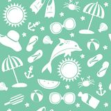 Summer pattern Stock Image