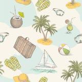 Summer pattern 1 Stock Photo