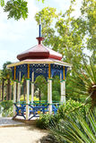 Summer pavilion in Nikitsky Botanical Garden Stock Image
