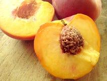 Summer peaches Stock Image