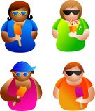 Summer people Royalty Free Stock Photo