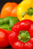 Summer Peppers Stock Photography