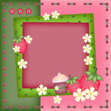 Summer photo frame Royalty Free Stock Photography