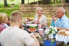 Summer picnic Stock Photography