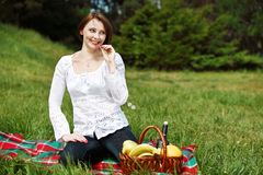 Summer picnic Stock Photography