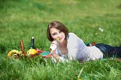 Summer picnic Stock Photo