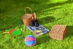 Summer Picnic Stock Photos