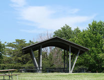 Summer Picnic shelter Stock Image