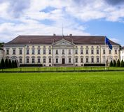 Summer picture of a Bellevue Palace, Berlin, Germany. stock photo