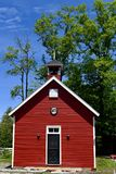 Little Red School House Stock Image