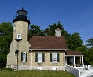 South View White River Lighthouse Stock Image