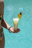 Summer Pina Colada Royalty Free Stock Photography
