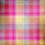 Summer pink and blue candy pastel plaid Stock Photography