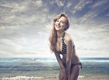 Summer pinup Stock Photos