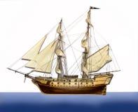 Summer pirate cruise ship stock photos