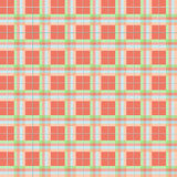 Summer Plaid Pattern Royalty Free Stock Photo