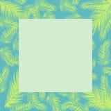 Summer plam tree leaves coloring background. vector illustration. EPS 10 stock illustration