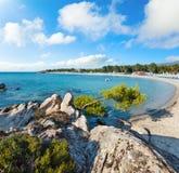 Summer Platanitsi beach, Sithonia, Greece royalty free stock photo