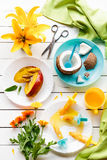 Summer on a Plate Royalty Free Stock Photo