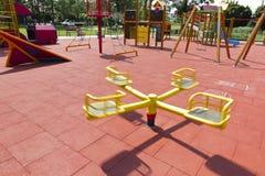 Summer playground. Royalty Free Stock Photos