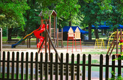 Summer at the playground Royalty Free Stock Photography