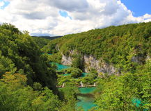 Summer at Plitvice national park croatia Royalty Free Stock Images
