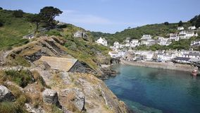 Summer in Polperro Cornwall England UK Royalty Free Stock Photography