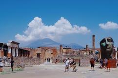 Summer @Pompeii, Italy stock image