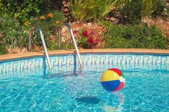 Summer Pool Stock Photos