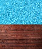 Summer pool Royalty Free Stock Photo
