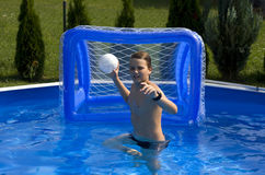 Summer pool fun Royalty Free Stock Photography
