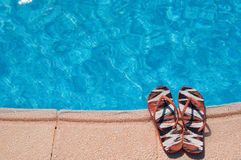 Summer pool Royalty Free Stock Photography