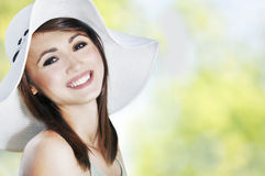 Summer portrait Stock Images