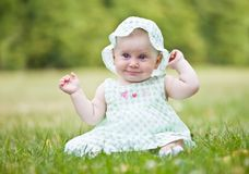 Portrait of beautiful baby Royalty Free Stock Photography